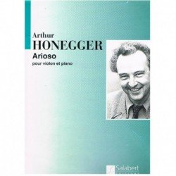 Honegger, Ar Arioso (Violin y Piano)