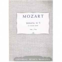Mozart. Sonata Nº5 Mib Mayor (Violin y Piano)