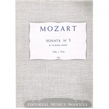 Sonata Nº5 Mib Mayor (Violin y Piano)