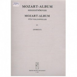 Mozart. Album para Violin Vol.4
