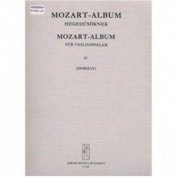 Mozart. Album para Violin...