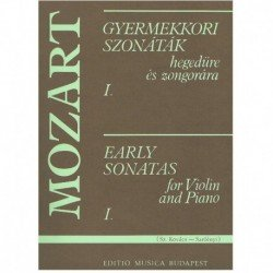 Early Sonatas Vol.1 (Rev. Kovacs/Szelenyi) (Violin y Piano)