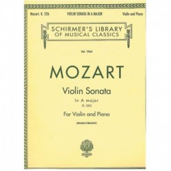 Mozart. Sonata La Mayor K526 (Violin y Piano)