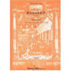 Raasted. Sonatina Op.44 (Violin y Piano)