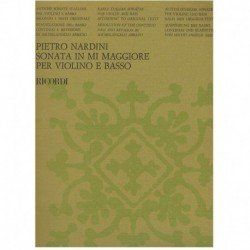 Nardini. Sonata Mi Mayor (Violin y Piano)