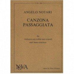Notari, Ange Canzona Passaggiata (Violin y Piano)