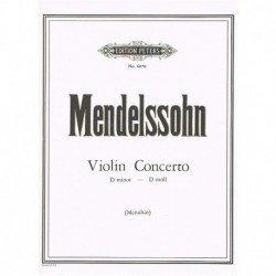 Mendelssohn. Concierto de...