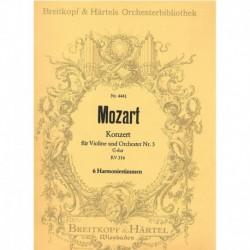 Mozart. Concierto Nº3 Sol...