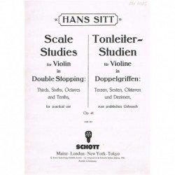 Sitt, Hans. Scale Studies...