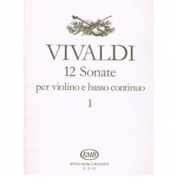 Vivaldi. 12 Sonatas Vol.1...