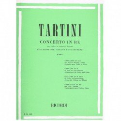 Tartini. Concierto en Re...