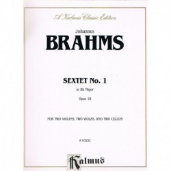 Brahms. Sexteto Nº1 Sib...