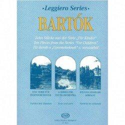 Bartok. 10 Piezas de For...