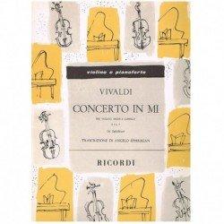 Vivaldi. Concierto en Mi...