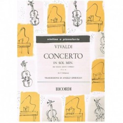 Vivaldi. Concierto en Sol...