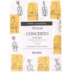 Vivaldi. Concierto Re menor...