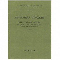Vivaldi. Sonata Sol menor...