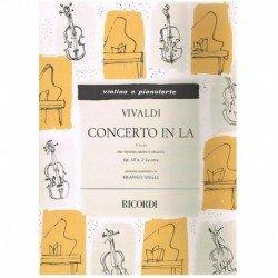 Vivaldi. Concierto en La...