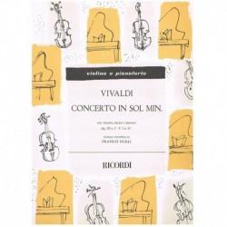 Vivaldi. Concierto Sol...
