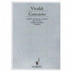 Vivaldi, Ant Concierto Sol...