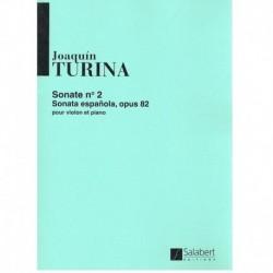 Turina. Sonata Española Nº2 Op.82 (Violin y Piano)