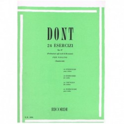 Dont 24 Ejercicios Op.37...