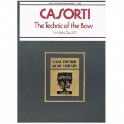 Casorti Tecnica del Arco Op.50 (Violin)