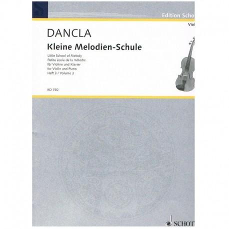 Dancla. Pequeña Escuela de la Melodia Vol.3