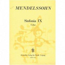 Mendelssohn, Sinfonía Nº9...