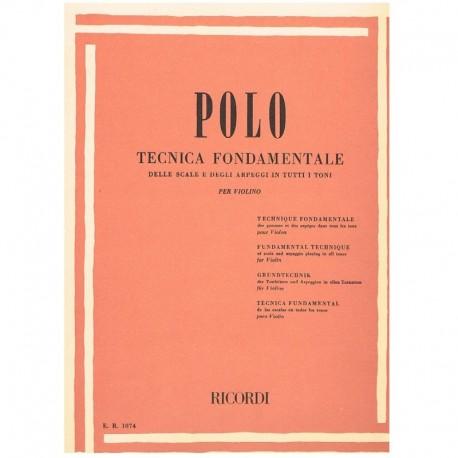 Polo. Tecnica Fundamental de las Escalas (Violin)