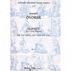 Dvorak, A. Quinteto en Mib Mayor Op.97 (2 Violines, 2 Violas, Cello)