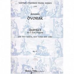 Dvorak. Quinteto en Mib...