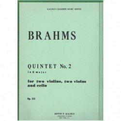 Brahms, Joha Quinteto en...