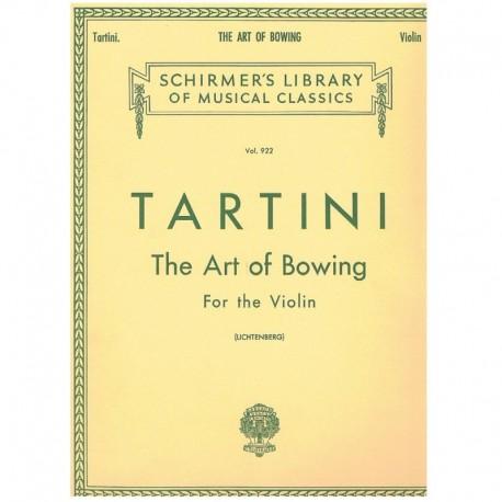 Tartini. El Arte del Arco (Violin)