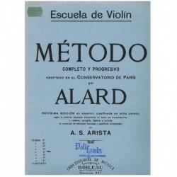 Alard. Escuela de Violin. Metodo Completo y Progresivo Vol.5
