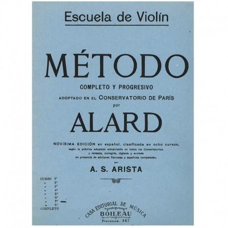 Alard. Escuela de Violin. Metodo Completo y Progresivo Curso 7º