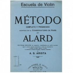 Alard. Escuela de Violin. Metodo Completo y Progresivo Vol.8