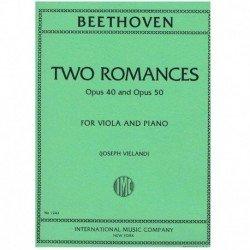 Beethoven 2 Romances Op.40 y Op.50 (Viola y Piano)