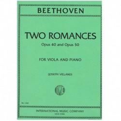 Beethoven. 2 Romances Op.40...