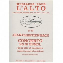Bach, J.C. Concierto en Sib (Viola y Piano)
