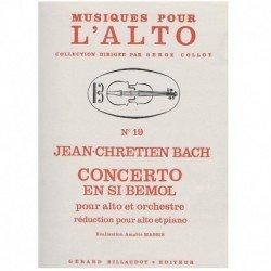Bach, J.C. Concierto en Sib...