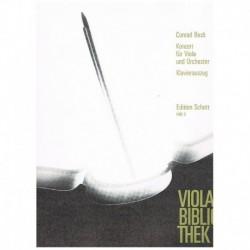 Beck. Concierto (Viola y Piano)