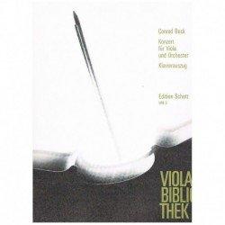 Beck. Concierto (Viola y...