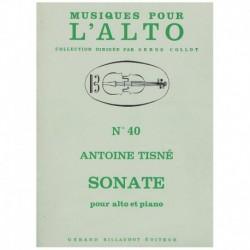 Tisne. Sonata (Viola y Piano)