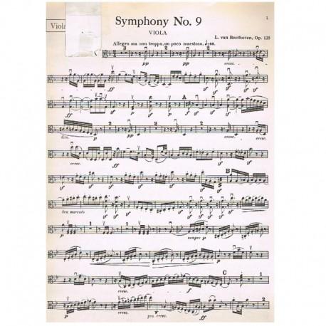 Beethoven. Sinfonia Nº9 Op.125 (Viola)