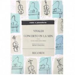 Vivaldi. Concierto La menor F.II Nº6 (Viola y Piano)