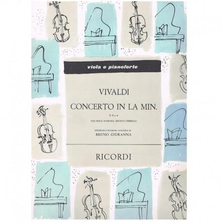 Vivaldi, Ant Concierto La menor F.II Nº6 (Viola y Piano)