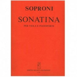 Soproni. Sonatina (Viola y Piano)