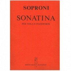 Soproni. Sonatina (Viola y...