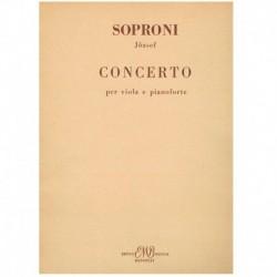 Soproni. Concierto (Viola y Piano)